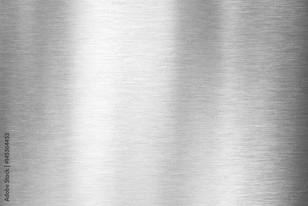 Fototapety, obrazy: brushed metal plate