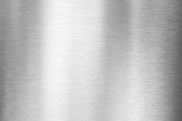 Fototapeta brushed metal plate