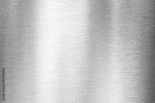In de dag Metal brushed metal plate