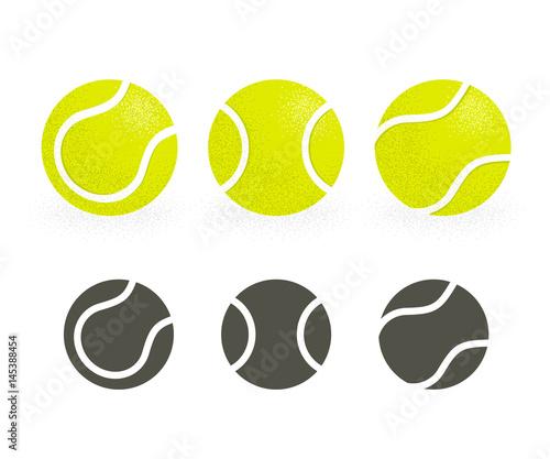 Obraz na plátně Tennis balls set