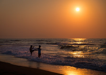 Sunset In Crete. Summer Of 201...