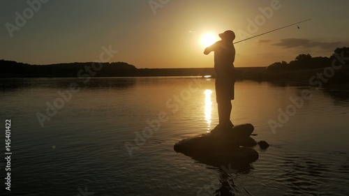 Fényképezés  Casting Silhouette