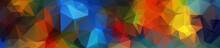 Header. Multicolor Geometric R...