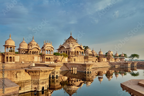 Stampe  Kusum sarovar ancient abandoned temple in India UP