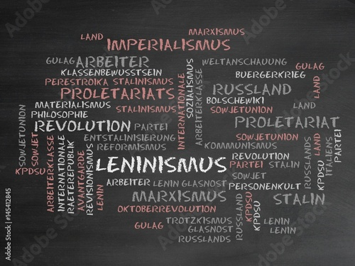 Fotografie, Obraz  Leninismus