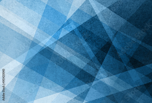 Blue White And Black Layers In Abstract Background Pattern