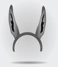 Donkey Ears Mask Vector