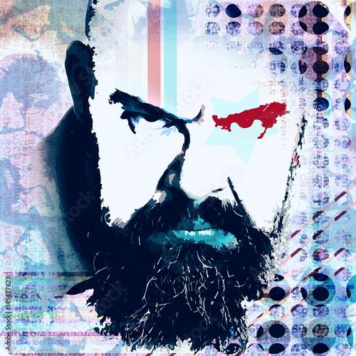 Fototapeta portret męższczyzny