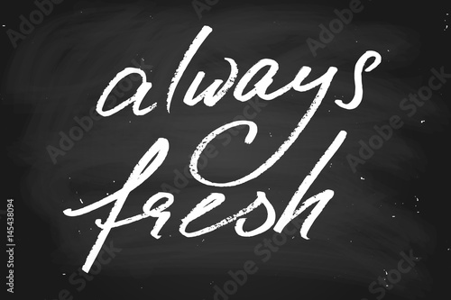 Fotografie, Obraz  Always fresh