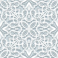 Paper Lace Texture, Seamless P...
