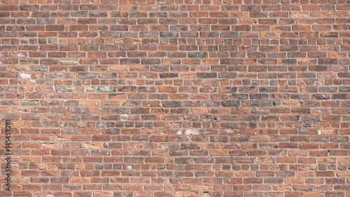 Foto op Canvas Baksteen muur Red Brick Wall