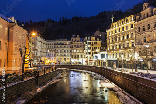 Fototapeta  Winter in Karlovy Vary
