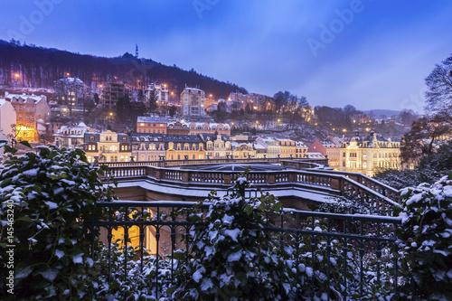 Fotografering Winter in Karlovy Vary