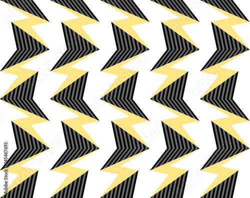 abstrakcyjna-wektorowa-grafika-czarno-zolto-biala