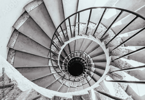 Foto op Plexiglas Spiraal Scala a spirale