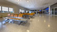 Waiting Area On Airport Passenger Terminal