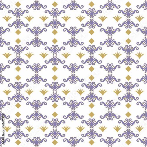 niebieski-i-zloty-kwiatowy-wzor-na-bialym-tle