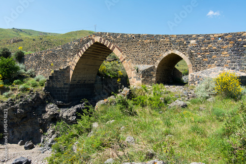 Medieval bridge of Adrano, Sicily, of arabic origin and saracen Tapéta, Fotótapéta