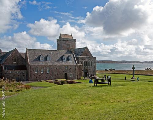 Cloister Iona Abbey Fototapeta