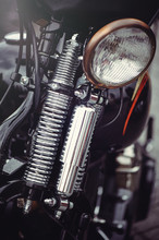 Vintage Motorcycle Headlight A...