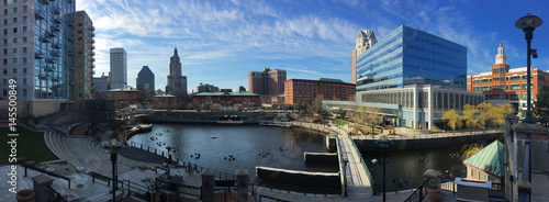 Panorama of downtown Providence, Rhode Island