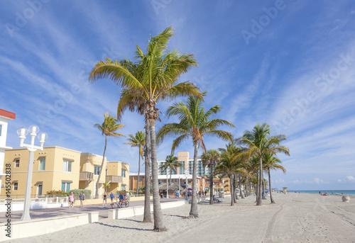 Photo  Hollywood Beach, Florida