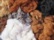 Natural Dyed Wool Yarn In The ...