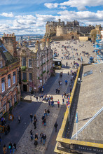 Royal Mile And Old Center Of E...