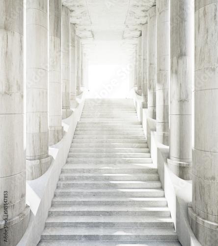 Fototapeta do sypialni   stairway-to-success