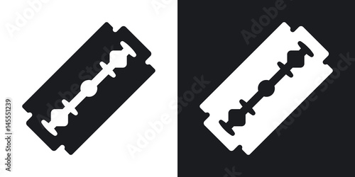 Tela Vector razor blade icon