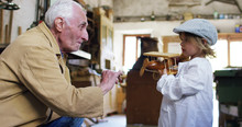In An Old Carpentry Shop A Chi...