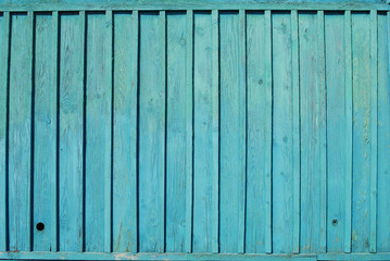 The blue Barn Wooden Wall Planking Texture