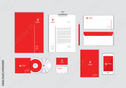 Corporate identity template for your business includes cd cover corporate identity template for your business includes cd cover business card folder envelope reheart Images
