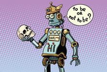 Robots And Humanity, A Scene From Hamlet