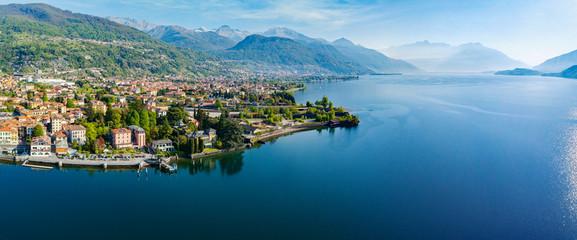 Dongo - Lago di Como (IT) - Vista aerea panoramica