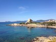 city bay at alghero, sardinia, italy