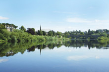 Junction Pool And View Of Tweed At Kelso