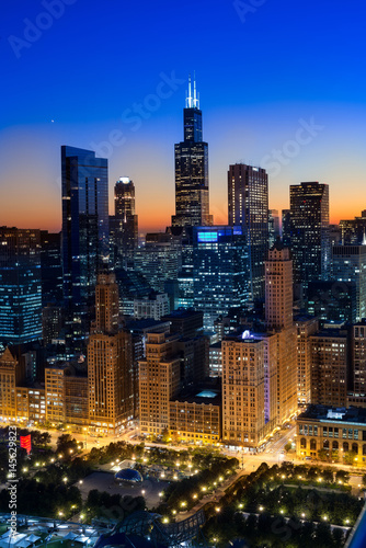 Poster Chicago City Light Chicago