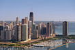 Lakeshore Drive Curve Chicago Aerial
