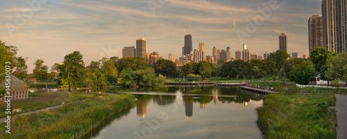 Fotografia  Lincoln Park Chicago Panorama