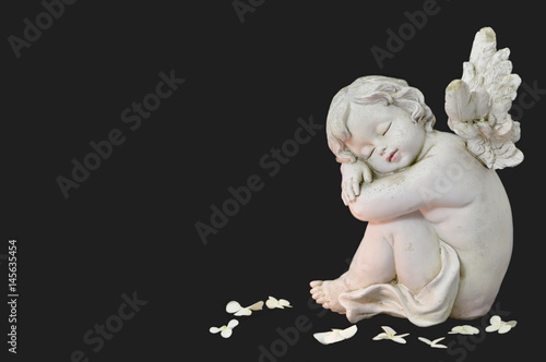 Fototapeta Cherub angel  sleeping