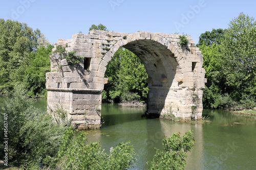 Papel de parede Oppidum Ambrussum Voie Domitienne Pont Ambroix