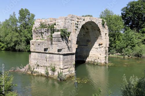 Obraz na plátne Oppidum Ambrussum Voie Domitienne Pont Ambroix