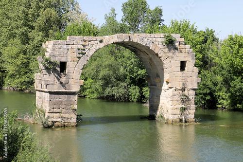 Fotografia, Obraz Oppidum Ambrussum Voie Domitienne Pont Ambroix