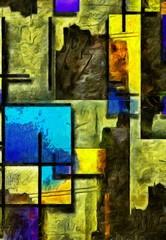 Obraz Mondrian