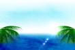 海 ヤシ 風景 背景