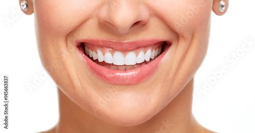 Beautiful woman smile. #145663837