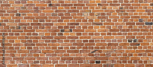 Photo  Old brick wall background