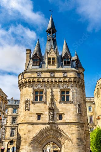 Fotobehang Praag Porte Cailhau, a medieval gate in Bordeaux, France