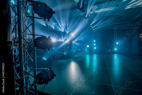 Fotografie, Tablou Illumination, light on the stage at the disco